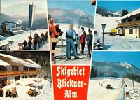 AK, Blickner-Alm bei Ruhpolding Obb., fünf Winteransichten, 1986