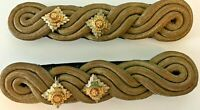 "Military Dress Gold Braid Lieutenant Shoulder Boards ""tria juncta in uno"""