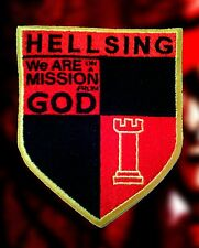 Hellsing Logo Crest Royal Order Mission Cosplay Anime Embroidered Iron-on Patch