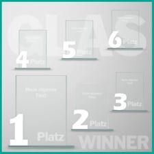 6er Glaspokal Serie mit Lasergravur günstig kaufen UNSER KAUFTIPP !