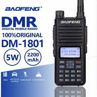Baofeng DM-1801 DMR Digital Two-Way Radio Dual Band Tier I & II Walkie Talkie