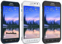 Samsung Galaxy S6 Active SM-G890A AT&T (UNLOCKED) 32GB 4G Smartphone BURNT LCD