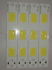 4 Volt DC COB LED SMD Diode, 10 Watt COB LED Cool White  - 4 Strip