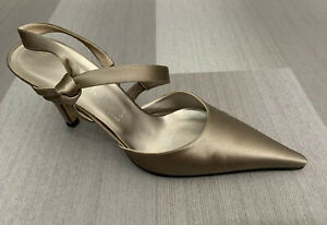 Anne Klein Pointed Slingback Stiletto Heel Shoe Sz 8M Dyable EUC