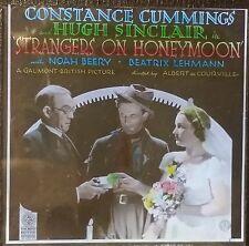 """Strangers on Honeymoon"", 1936 Movie Advertisement, Magic Lantern Glass Slide"