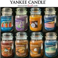 WINTER SALE NOW ON Yankee Candle Large Jar Scented 19oz Variety Home Scent Melt