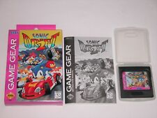 Sonic Drift 2 Complete in Box for Sega Game Gear CIB **TESTED & WORKS GREAT**