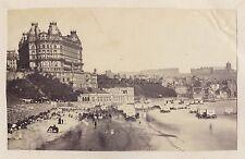 Scarborough Angleterre UK Vintage albumine ca 1865