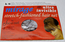 2 Package Jac-O-Net #146 Dark Regular Size Hair Net for Black or Dark Brown Hair