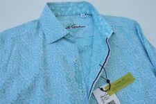 NWT $178 Robert Graham Mens WINDSOR long sleeve shirt size XS Casual Shirt