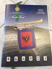 Calendario Storico 2012 Forze Armate Collezione Nastro Verde Medaglia Mauriziana