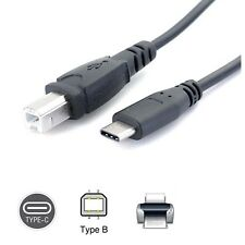 USB-C USB 3.1 Type C Male to USB 2.0 B Type Male Data Cable Phone Printer yb