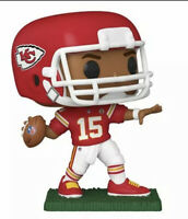 Funko POP: NFL - Chiefs Patrick Mahomes II Red Jersey #148 With Protector Mint