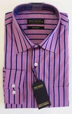 Cotton Striped NEXT Single Cuff Formal Shirts for Men