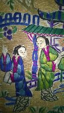 Chinese Silk Embroidery, antique fine work
