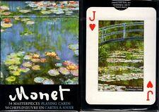 Monet Masterpieces Playing Cards Poker Size Deck Piatnik Custom Limited Edition