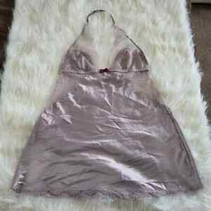 Victoria Secret Nightgown Sleepwear Large Gray