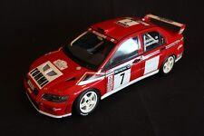 AutoArt Mitsubishi Lancer WRC 2001 1:18 #7 Makinen / Lindström Network Q (AK)