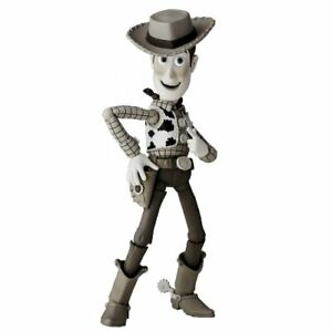 SCI-FI Revoltech 010EX Toy Story Woody Sepia Color ABS PVC Action Figure Kaiyodo