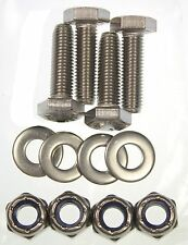 Classic Mini Front Seat Fixing Bolt Set All Stainless 1275GT Cooper Clubman BL