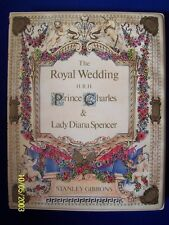 Princess Diana Stanley Gibbons Royal Wedding Stamp Album w/ Stamps