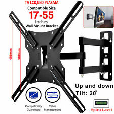 TV Wall Bracket Mount Tilt & Swivel for 32 37 40 42 43 55 50 55 Inch Monitor LCD