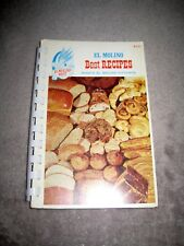 El Molino Mills Best Recipes Kitchen '53 Cookbook Cook Book Booklet Flour Cereal