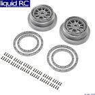 Losi 43029 Beadlock Wheel and Ring Set 2 : SBR 2.0
