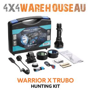 Olight Warrior X Turbo 1100 Lumen Long Distance Spotlight Kit WARRIORX-TURBO-KIT