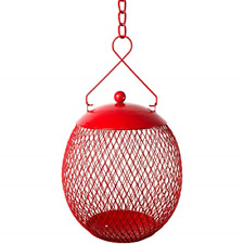 New listing EnDarius Bird Feeder - Hanging Ball Metal Feeders for Outdoors - Best with & - a
