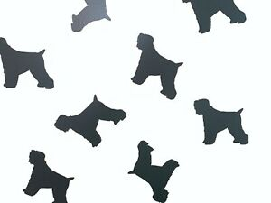 Black Russian Terrier Vinyl Wall Art Decals/Stickers - Various Colours & Sizes