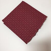 "1.5 Yards Burgundy Geometric Fabric 44"" wide Springs Cotton"