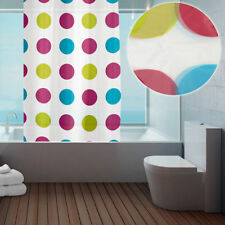 Just Contempo Plastic Modern Shower Curtains
