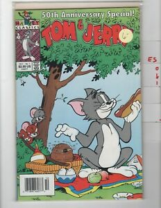 Tom and Jerry 50th Anniversary Special #1 Newsstand VF/NM 1991 Harvey e501
