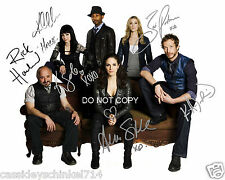 Lost Girl tv show reprint signed cast 8x10 photo by 6 Anna Silk + RP