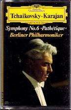 "HERBERT VON KARAJAN "" TCHAIKOVSKY SYMPHONY N° 6 PATHETIQUE "" MUSICASSETTA NUOVA"