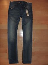 Diesel Jeans 0806P KROOLEY Regular Slim Carrot Fit Distressed Wash Size 29 X 32