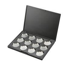 12 Pcs 26mm Empty Magnetic Eyeshadow Pigment Aluminum Palette Pans Makeup DIY