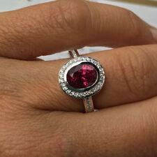 Natürliche Echte Edelstein-Ringe mit Rubin