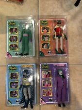 Figures Toy Company Batman 1966 Lot Adam West, Robin, Joker, Riddler