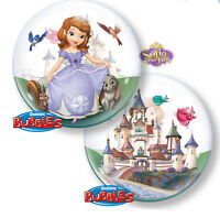 Disney Sofia the First Birthday Bubble Foil Balloon 22""