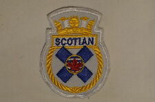 Canadian Navy RCN HMCS Scotian Crest Patch