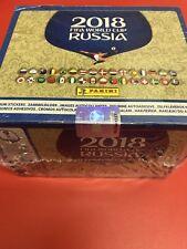 Panini Fifa World Cup Rusia 2018 Pegatina Colección 100 paquetes (1 Caja Sellada)