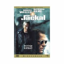 The Jackal (DVD, 1998, Collectors Edition)