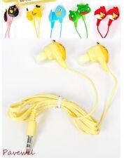 10 pcs/lot cartoon animal shaped earphone earbud for computer, cellphone, mp3/4