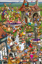 Piatnik Story Of Wine Quality Jigsaw Puzzle 1000 Pieces - Brand New