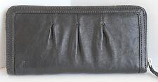 Cole Haan NEW Phoebe II Travel Zip Wallet B35361 MSRP $228 Black Smooth Leather