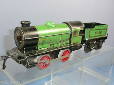 VINTAGE HORNBY MODEL No.M1 LOCO AND TENDER  WITH BLACK CHASSIS VERSION