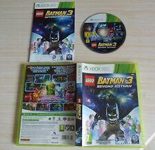 JEU PAL XBOX 360 BATMAN 3 BEYOND GOTHAM COMPLET