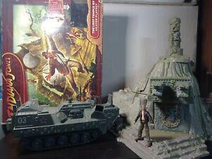 Indiana Jones Royaume Du Crâne De Cristal Le Temple Perdu D'Akator Playset +...